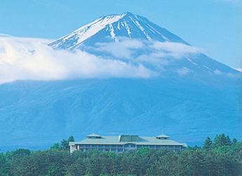 富士ビューホテルから見える富士山